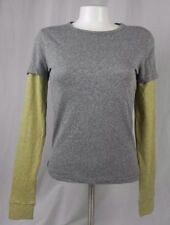 NEW Aeropostale Prince & Fox Yellow & Gray Layered Long Sleeve T-Shirt Size XL