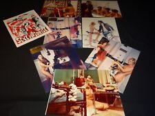 SEXE MOTORISE  Uta Kopa  Klingered photos presse argentique cinema sexy 1971