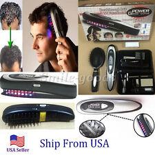Power Grow Laser Comb Brush Hair Loss Hair Growth Treatment Kit