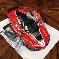 New 1/18 Bburago Ferrari FXXK FXX K EVO #54 diecast open close car model Red
