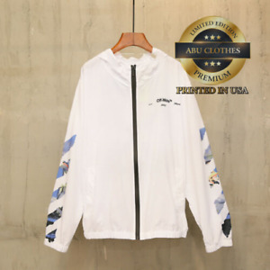 NEW  White Sun Protection Zip Hoodie S-5XL