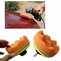 Gross Polishing Buffing Pad Kit Tool Car Polisher Buffer with Drill Adapter 4""