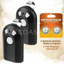 2 For Genie Intellicode ACSCTG Type 3 Garage Door Opener Remote Control GIT-3