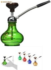 Durable Mini Hookah Assorted Colors Water Pipe Bong Rasta Smoking Cessation Tube