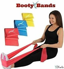 Booty Resistance Bands for any Workout- Set of 3 Bands (Straight) Latex Free