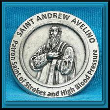 Saint Andrew Avelino Pocket Token MEDAL Patron of Strokes & Blood Pressure NEW!