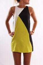Womens Casual Sleeveless Short Mini Dress Summer Party Cocktail Beach Long Tops
