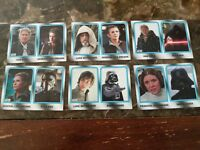 2017 STAR WARS JOURNEY TO THE LAST JEDI WALMART FAMILY LEGACY 6 CARD SET