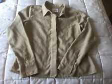 Rohan Ladies Travel Linen Print Shirt Size Small