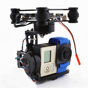 3-Axis Brushless Gimbal for FPV Camera Drones Lightweight CNC Aluminum