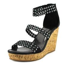 Sandalias y chanclas de mujer planos de color principal negro talla 39