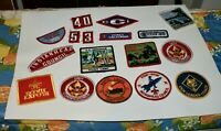 18 Never Used Boy Scout Patches & Badges