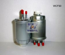 WESFIL FUEL FILTER FOR Ssangyong Musso 2.9L TD 2004 07/04-09/07 WCF90