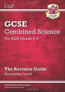 New Grade 9-1 GCSE Combined Science: AQA Revision Guide with  .9781782945604.
