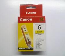 Canon bci-6y bci-6 Y GIALLO PIXMA ip4000 ip4000r ip5000 ip6000d ip8500