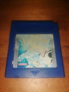 Pokémon Bleu Nintendo Game Boy