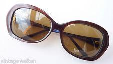 Missoni entspiegelte Damen Sonnenbrille sehr groß braun elegant Design GR:L NEU