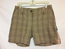 GIANNI BINI ~ Women's Mid-Rise 98% Cotton MULTI-COLORED Shorts ~Sz. 8