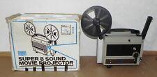 Sears Ii Super 8 Sound Projector In Box Gaf 2000S
