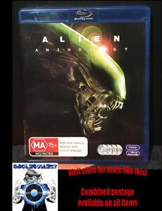 Alien Anthology - 4 movies on Blu-ray