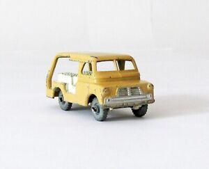 Vintage Lesney Moko Matchbox #29-A Bedford Milk Van METAL WHEELS 1956