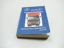 MERCEDES Bedrijfswagens  Specifikaties Werkplaats pocketboek Boek KLJDSJKVFF