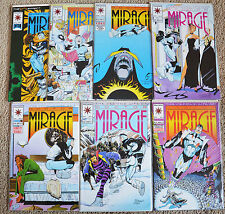 SECOND LIFE OF DOCTOR MIRAGE# 1,2,3,6,7,8,11 (1993 Series) VF-Mint condition