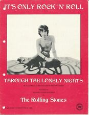 It's Only Rock N Roll - The Rolling Stones - 1974 Sheet Music