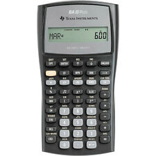 Texas Instruments Advanced Business And  Financial Calculator BAII Plus