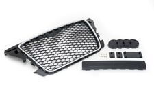 09+ Audi A3 8P Euro RS3 Style Front Sport Hex Mesh Honeycomb Grill Black Chrome