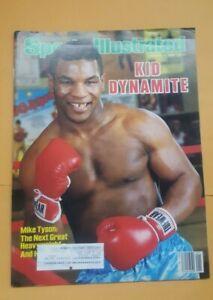 Sports Illustrated Magazine. Boxing. Jan. 6, 1986. Mike Tyson. Kid Dynamite.
