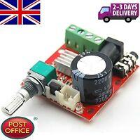 DC 12V Mini Amplifier Board 10W + 10W Class D Amplifier Mini Audio Amp Board