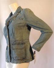 Lauren Ralph Lauren - 100% Cotton Denim Blazer - Size Medium Petite