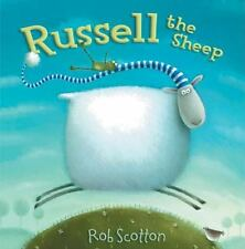 Russell the Sheep by Rob Scotton NEW Hardcover Dust Jacket Picture Bedtime Story