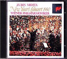 Neujahrskonzert aus Wien 1990 Zubin MEHTA CD New Year's Concert from Vienna SONY