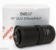 Mamiya 645 AFD III / AFD II / AFD  / AF 210mm/4 ULD (ULTRA LOW DISPERSION) lens