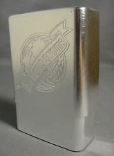 SCARFACE THE WORLD IS YOURS METALLIC SILVER HARD PLASTIC CIGARETTE CASE NEW