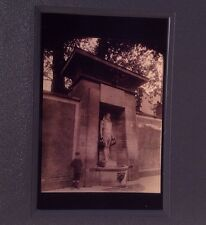 "Eugene Atget ""Fontaine Sevres"" Paris 35mm Slide French Documentary Photography"