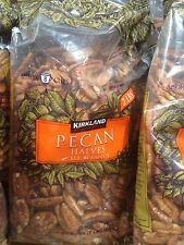 Kirkland Signature 2 lbs Pecans Shelled Fresh Raw Halves Nuts - 2 Pack