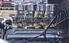 CORVETTE MOTOR Schild 44,5cm V8 CHEVY Chevrolet Blower Stingray USA HOT ROD Gas