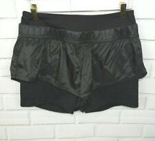 Adiddas Stella McCartney M Black Layered Running Shorts
