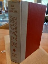 New listing The New Complete Hoyle by Albert H. Morehead Leather Hardcover 1956