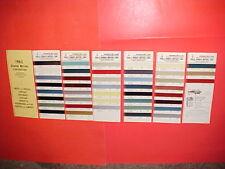 1965 CHEVROLET CORVETTE CORVAIR BUICK CADILLAC OLDSMOBILE PONTIAC PAINT CHIPS SW