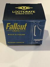 Fallout Loot Crate Power Armor Build a Figure 2 Of 6 Upper Body Torso Bethesda