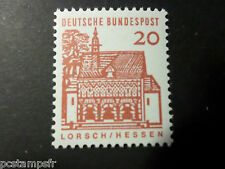 ALLEMAGNE FEDERALE, RFA 1964 GERMANY, TP 323, EDIFICES HISTORIQUES, neuf** MNH