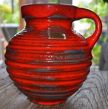 Carstens Tönnieshof Heinz Siery 474-18 Ceramic Design Pottery Vase 60s