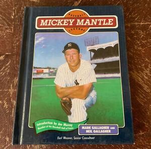 1991 MICKEY MANTLE BASEBALL LEGENDS BOOK HARDCOVER