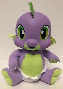 My Little Pony Talking SPIKE Newborn Baby Dragon Plush Vinyl Hasbro 2011 Stuffed