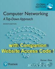 NEW 3 Days to AUS Computer Networking A Top-Down Approach 7E James Kurose + Code