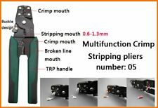 Precision Wire Stripper & Crimper Multi Tool High Quality Cable Stripping Pliers